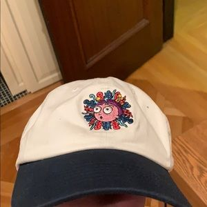Limited edition navy blue and white Rick&Morty Hat